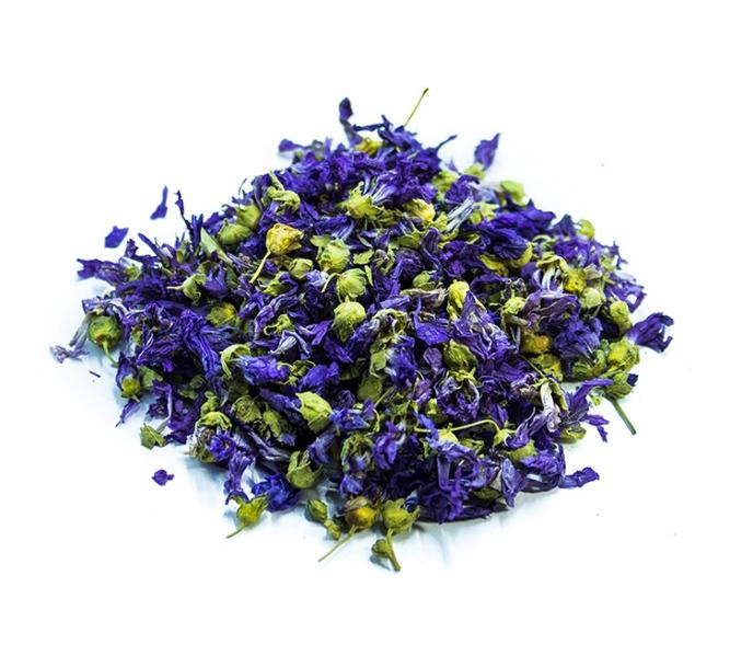 Malva fiori blu puri