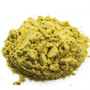 Senape gialla in polvere