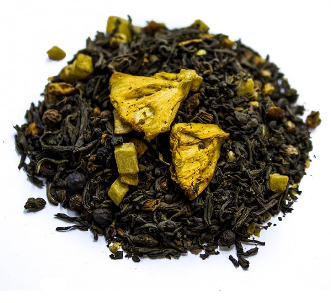 Tè nero ananas grigliata