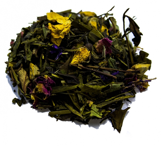 Tè premium Pai Mu Tan gelsomino-limone