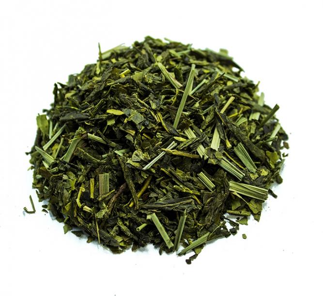 Tè sencha alga wakamè