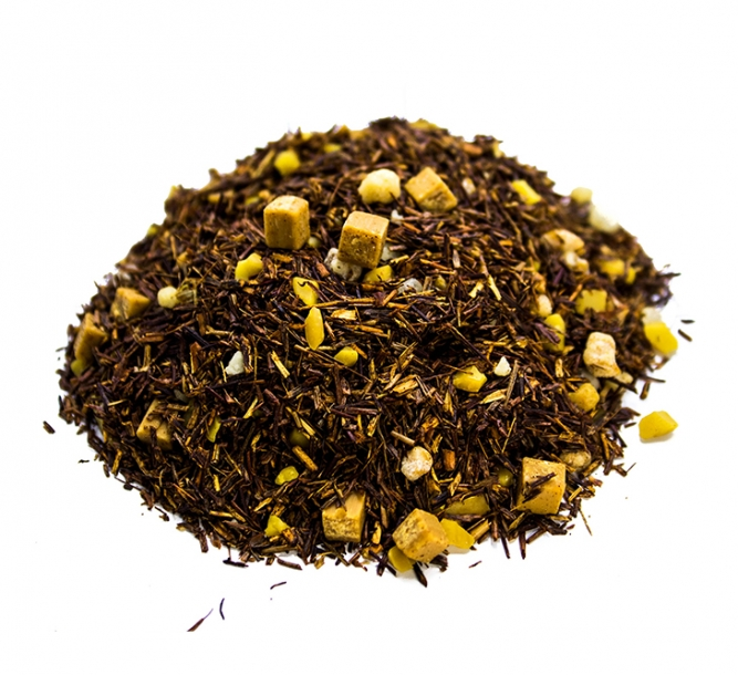 Tè rosso rooibos sale caramello